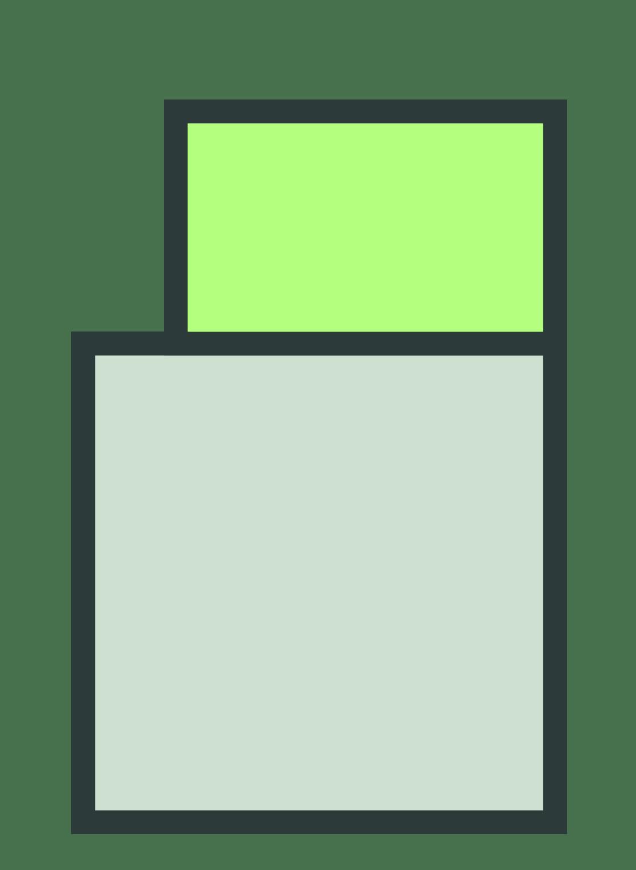 Opbouw bij plat dak schematisch