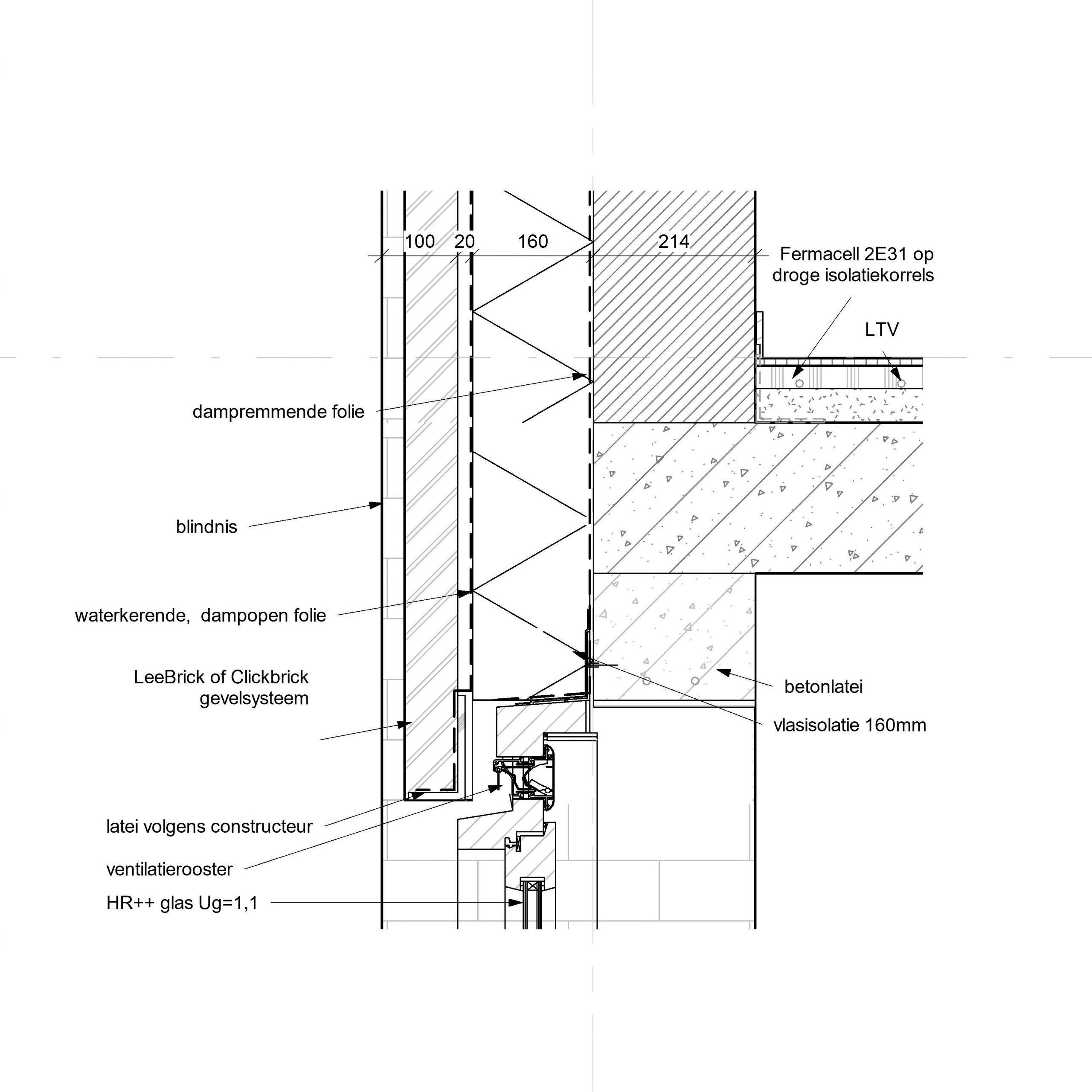 detailtekening bouwkundig
